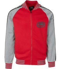 ecko unltd men's logo tape track jacket