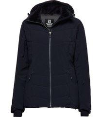 icepuff jkt w outerwear sport jackets blå salomon