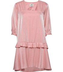 electric dream decilla korte jurk roze mads nørgaard