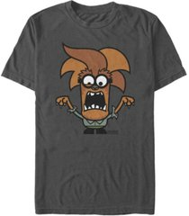 despicable me men's minions werewolf wolfman halloween monster short sleeve t-shirt