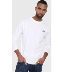buzo blanco tommy jeans