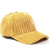 gorra amarilla tropea microfibra