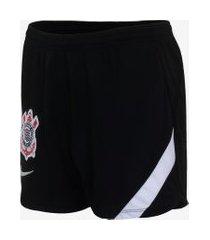shorts nike corinthians feminino