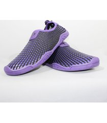 zapatos de playa para mujer blue planet - morado