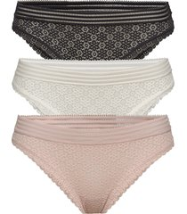 daisy lace hileg pack trosa brief tanga multi/mönstrad gilly hicks