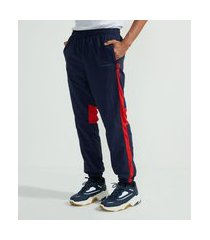 calça masculina modelo jogger | blue steel | azul | eg i