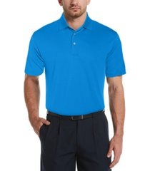 pga tour men's airflux solid polo shirt