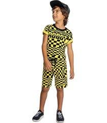 camiseta marisol amarelo - amarelo - menino - dafiti