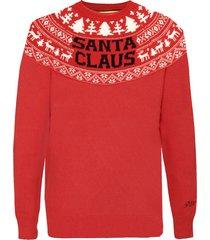 mc2 saint barth norwegian style red mans sweater