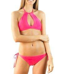bikini top rosado relleciga