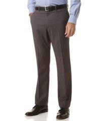 perry ellis portfolio slim fit flat front no-iron dress pants