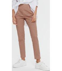 damskie spodnie we wzory