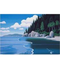 "ron parker 'western horizon' canvas art - 12"" x 19"""