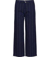 wide leg vida jeans blå lee jeans