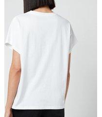 a.p.c. women's dayaana t-shirt - white - fr 38/uk 10