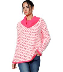 trui amy vermont pink::wit