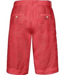 bermuda van 100% linnen van brax feel good rood