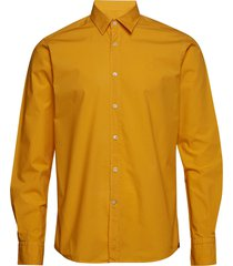 niccolo classic collar shirt overhemd casual geel morris