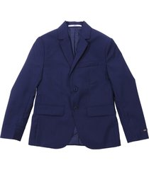 hugo boss deep blue wool jacket