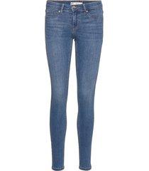 bonnie low waist jeans skinny jeans blå gina tricot