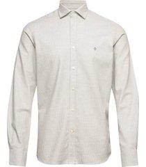 tribley spread collar shirt overhemd casual grijs morris