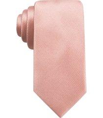 ryan seacrest distinction men's durham slim solid tie, created for macy's