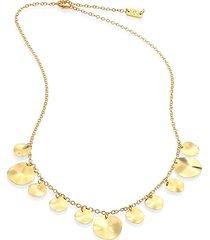 18k classico mini spotlight necklace