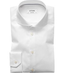 eton shirt dress wit contemporary cut-away