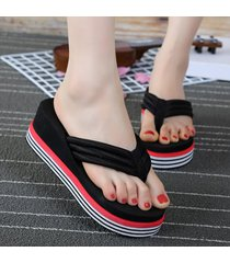cuñas de mujeres home zapatos sandalias planas,damas de verano calzado de playa zapatillas