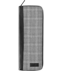 cathy's concepts personalized glen plaid tie case