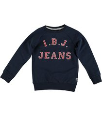 indian blue jeans zachte blauwe stretch sweater