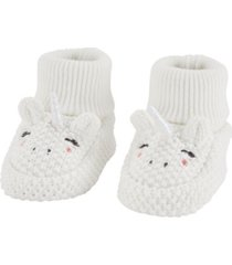 carter's baby boys unicorn booties