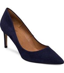 pumps 16111 shoes heels pumps classic blå billi bi
