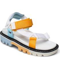 color pop tommy jeans sandal shoes summer shoes flat sandals vit tommy hilfiger