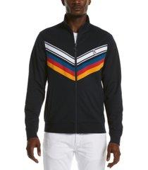 original penguin men's chevron stripe track jacket