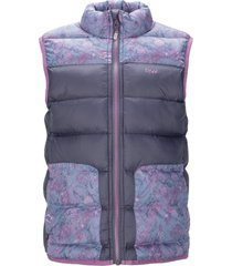 chaqueta airy vest jacket azul noche lippi