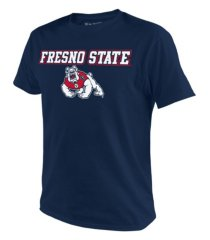 top of the world fresno state bulldogs men's midsize t-shirt