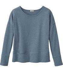sweatshirt, rookblauw 36/38