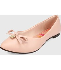 baleta rosado moleca