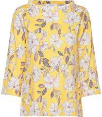 blouse long-sleeve blus långärmad gul gerry weber edition