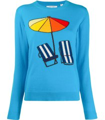 chinti and parker beach sweater - blue