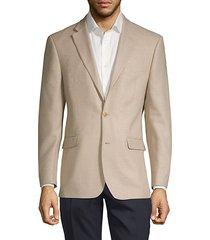 notch wool blend jacket