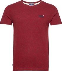 ol vintage emb tee t-shirts short-sleeved röd superdry