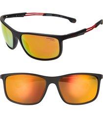 men's carrera eyewear 62mm wrap sunglasses -