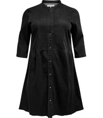 jeansklänning carchicago life 3/4 tunic dress