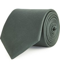 reiss aiden - silk tie in deep green, mens