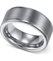triton men's tungsten ring, 8mm wedding band