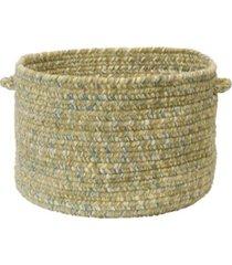 colonial mills west bay braided storage basket