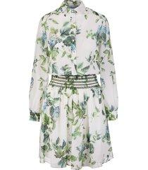 flower print short dress