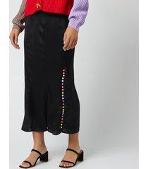 olivia rubin women's hannah slip skirt - black - uk 10